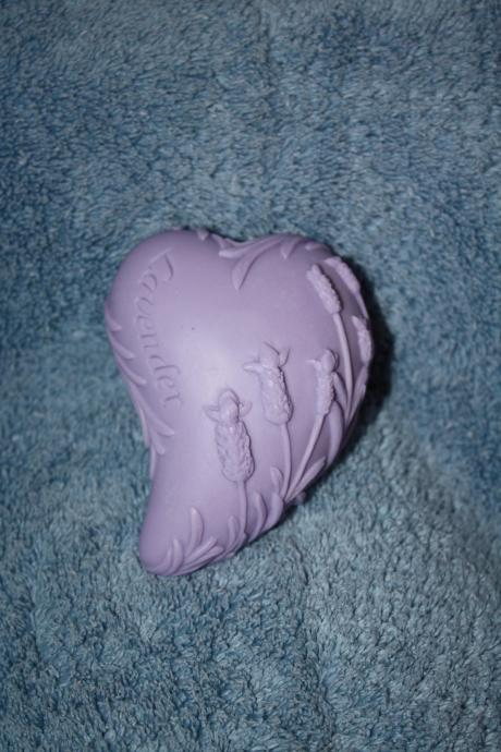 Lavender Heart Soap